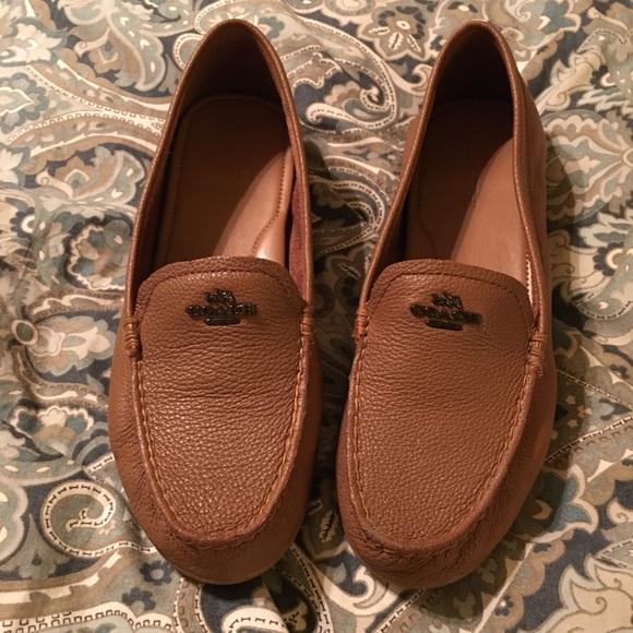 20dba5380e8 Coach Shoes - NWOT Coach Cognac Loafers